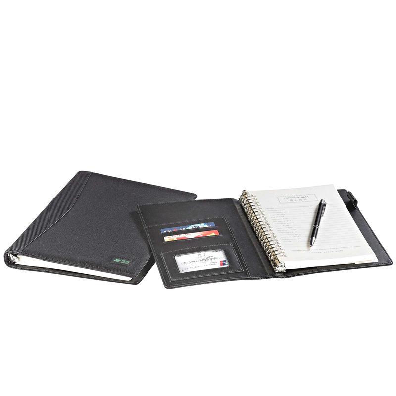 Hot-sale high quality office supplies men's leather portfolio