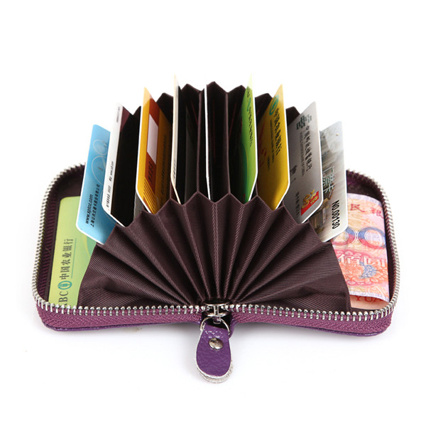 multifunctional business card holder card wallet